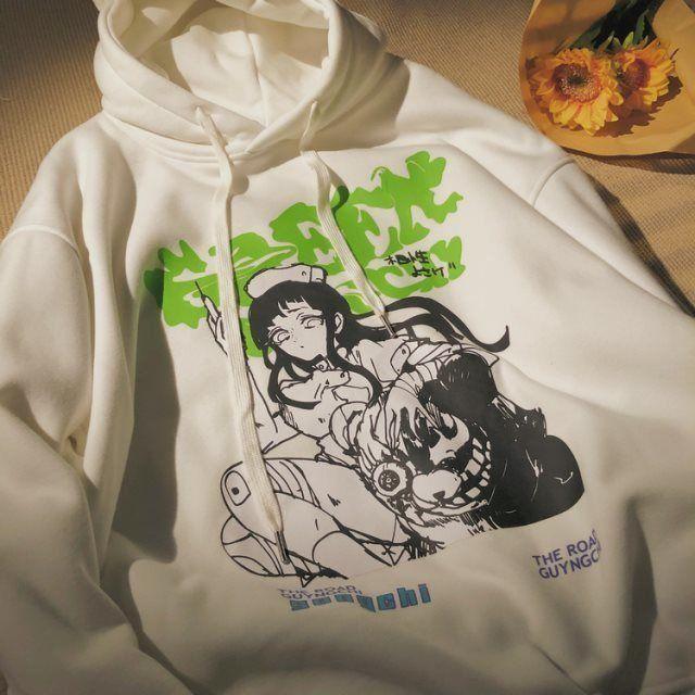 Hoodie for women Plus Size S-3XL Harajuku Spring Autumn Hoodies Women Fashion Printed Sweatshirt Woman Casual Female Sudaderas 2