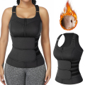 Women Waist Trainer Body Shaper Neoprene Sauna Sweat Suit Belly Slimming Sheath Modeling Trimmer Belt Weight Loss Corset Top