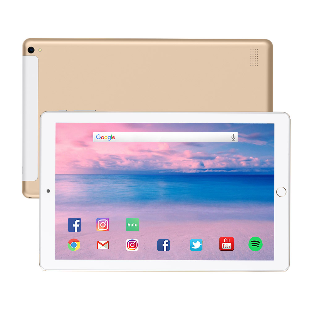Free Shipping 10.1 Inch Tablet Pc 10 Core 2020  Android 8.1 Tablet 6G RAM 128GB ROM IPS Dual SIM Phone Call Tab Phone Pc Tablets