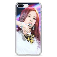 Nero Rosa K-Pop Blackpink Collage per LG G2 G3 G4 Mini G5 G6 G7 Q6 Q7 Q8 Q9 v10 V20 V30 X Power 2 3 Spirito Copertura Del Telefono Del Silicone(China)