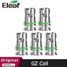5 개/갑/팩 원래 Eleaf GZ 1.2ohm 코일 머리 칼 코어 MTL vaping 전자 담배 GZeno 탱크 Eleaf iStick S80 키트에 적합
