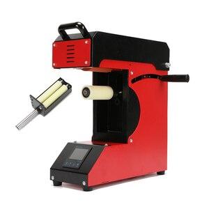 Image 3 - Professionele Roller 360 Graden Lcd Roll Sublimatie Plastic Mok Glazen Beker Roller Logo Print Warmteoverdracht Machine AP1825