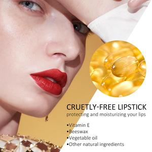 Image 4 - ZEESEA новая египетская коллекция, 10 цветов, долговечный водостойкий питательный блеск для губ, влажная бархатная матовая телесная помада, модный блеск для губ