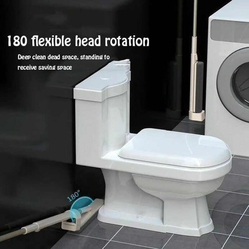 الغراء ممسحة قطنية 180 درجة تدور المياه ماصة قابل للتعديل المنزل الطابق تنظيف أداة PAK55