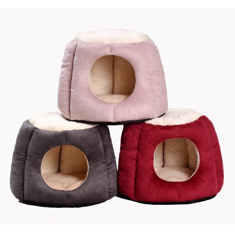 Creative Simple confortable garder au chaud respirant belle chambre pour animaux de compagnie petit Teddy chat chien chat lit chat chien maison fournitures pour animaux de compagnie