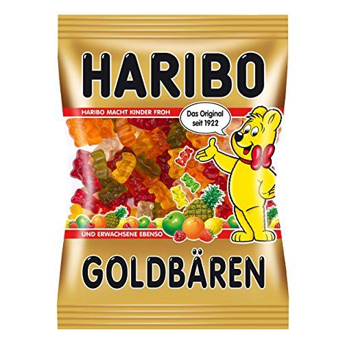 Haribo Goldbears, Bears, Winegums, Fruit Gums, Sweets, Bonbon, In Bag, 200 G