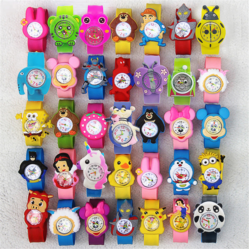 Cute 21 Patterns Spiderman Toys Children Watches Boys Girls Kids Digital Watch Child Patted Watch Birthday Gift Electronic Clock
