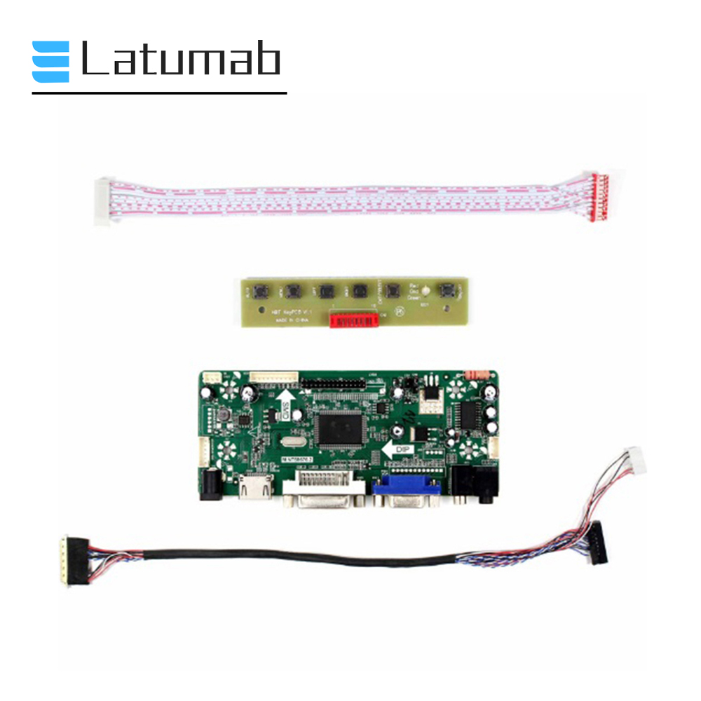 LCD Controller Board Kit monitor for 1920X1080 LM215WF4-TLE2 panel HDMI+DVI+VGA