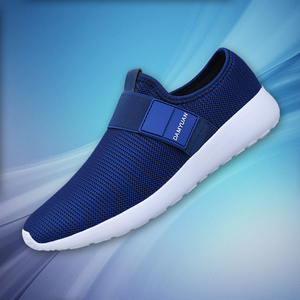 Image 1 - 2020 dos homens sapatos casuais malha leve respirável esportes tênis de corrida moda confortável sapatos homem apartamentos