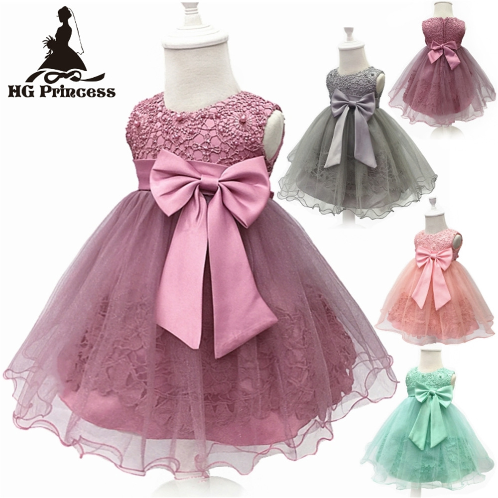 EBay Amazon Hot Selling CHILDREN'S Dress 2019 New Style Europe And America Beads Puffy Princess Dress Lace Flower CHILDREN'S Dre