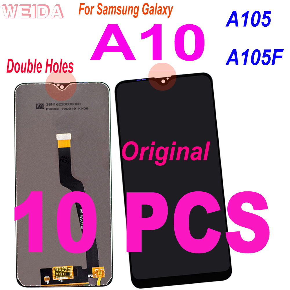 10 PCS Original Super Amoled <font><b>LCD</b></font> For <font><b>Samsung</b></font> Galaxy <font><b>A10</b></font> <font><b>Lcd</b></font> A105 A105F SM-A105F <font><b>LCD</b></font> Display Touch <font><b>Screen</b></font> Digitizer Assembly image