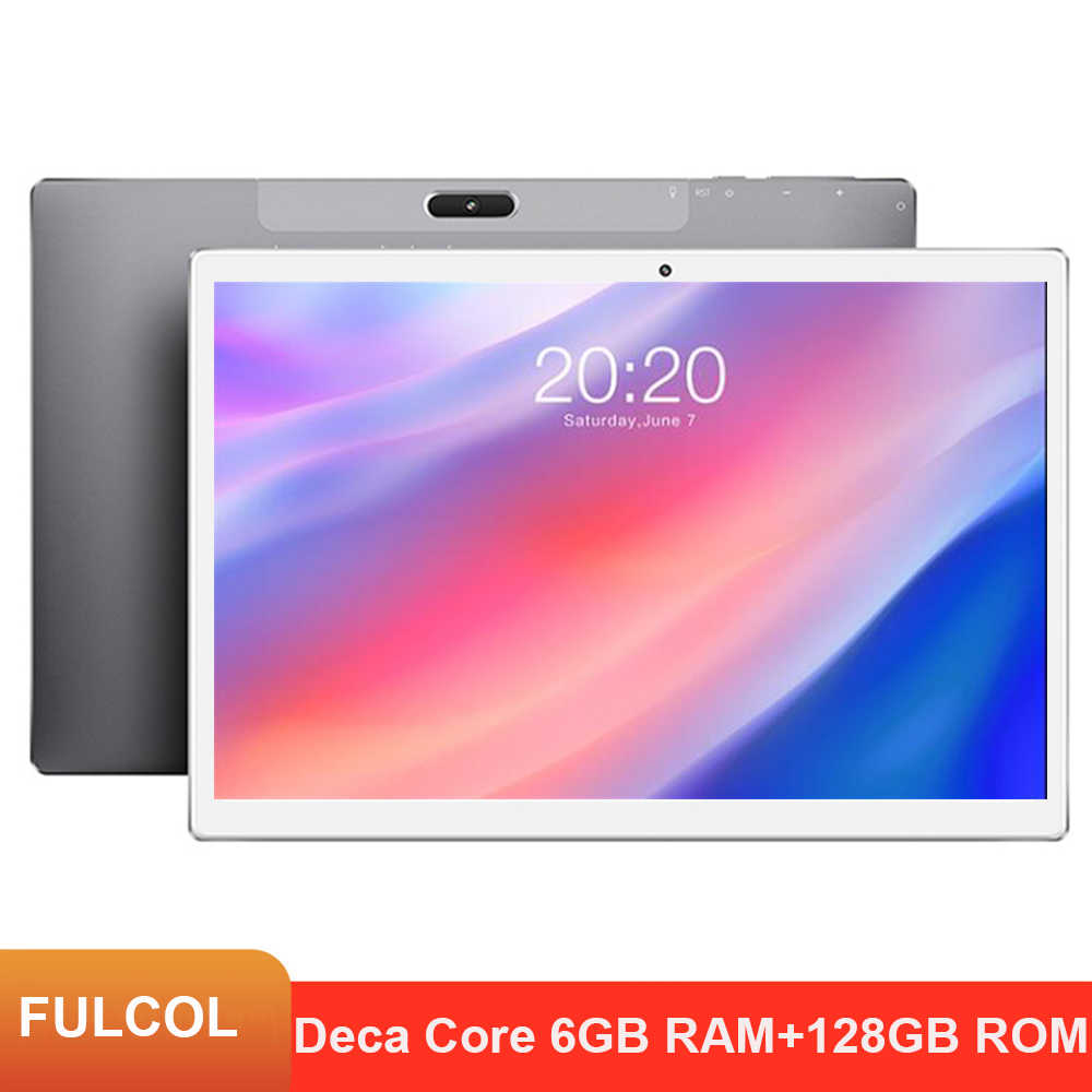 2021 Nieuwste X30L 10.1 Inch Tablet Pc MT6797 Deca Core 6Gb Ram 128Gb Rom 4G Lte 13.0/5.0MP Android 8.0 1920X1200 2.5K Ips Tabletten