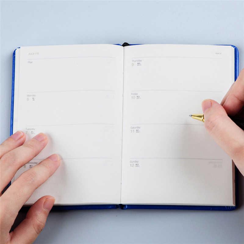 Мини-дневник A7, еженедельный, ежемесячный, деловой, дорожный, D40