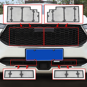 Hivotd For Haval F7 F7X 2018 2019 2020 Accessories Front Grille Insect Net Screening Insert Mesh Decoration Covers Car Styling(China)