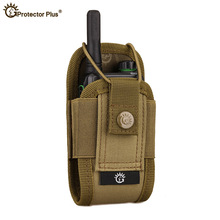 Tactical Walkie-Talkie Bag Army Fan Molle CS Equipment Camouflage Accessory Multi-Function Outdoor Sports Package жилет армейский no molle cs