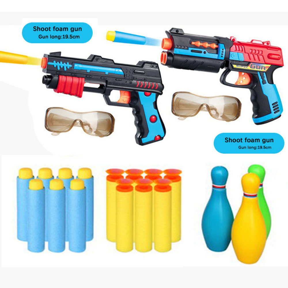 Shotgun N.3 water bullet gun soft bullet gun double environmental protection toy