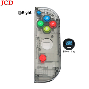Image 4 - JCD New Housing Shell DIY Transparent Red Blue Replace Cases Customized Cover for NS Nintend for Switch Controller for Joy Con