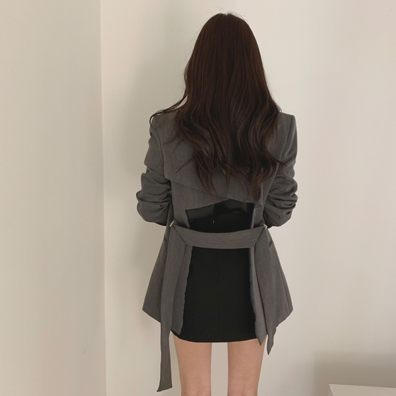 Cheap Wholesale 2019 New Autumn Winter Hot Selling Women's Fashion Netred Casual  Ladies Work Wear Nice Jacket BP661
