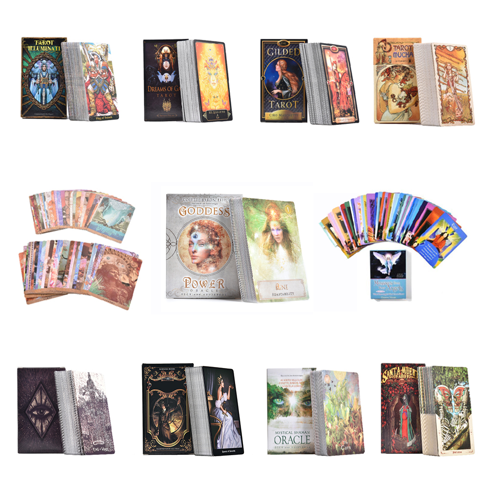 Tarot Cards The Steampunk Tarot Deck English Oracle Card Table Deck Games Party Playing Card Board Game Guidance Divination Fate