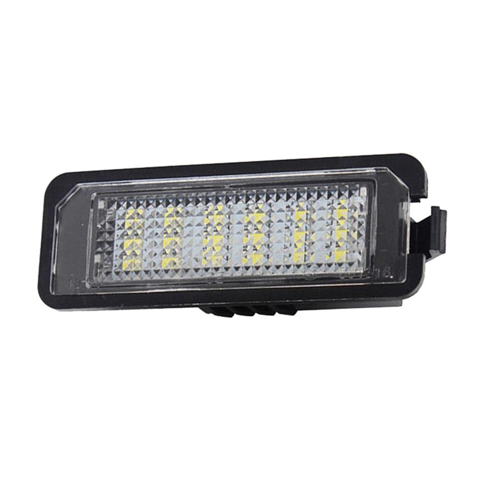 Error Free Led Number License Plate Light For Vw Golf 4 5 6 7 6r Passat B6 Warning Lights Car Styling Accessories Flash Deal 8d9f3 Cicig
