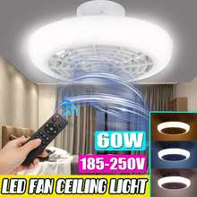 60W Led Ceiling Fan Light Ceiling Fan with Lights Remote Control Modern Lighting three-color Dimming Ceiling Light 45*20cm