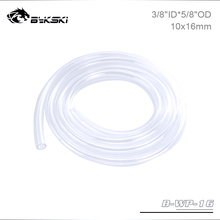 """Bykski B WP 16, 3/8""""ID*5/8""""OD 10x16mm Soft Tubes, For Water Cooling System Pipeline Construction, 1 Meter/pcs"""