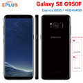 Brand New Global Samsung Galaxy S8 G950F Mobile Phone Exynos 8895 Octa Core 5.8 inch 4GB RAM 64GB ROM 12MP 3000mAh Android Phone
