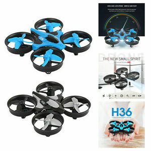 Mini Drone 2.4G JJRC H36 6-Axis Gyro 360° Turn Over Aircraft One Key Return Mini Quadcopter RC Drone Kids Toy Gift