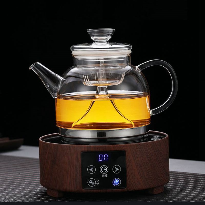 multi function glass tea pot Boil tea ware glass Steaming teapot gas stove uses glass pot|Teapots| |  - title=