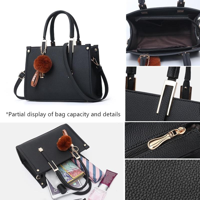 LKEEP Mini Boston Shoulder Bag Women Leather Long Handbags Female Crossbody Messenger Bag Bolsa Sac Fashion Ladies Small Tote 5