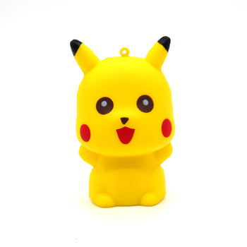 ORC Pikachu Squeeze Toys Stress Relief Cute Cartoon squishies toy squeeze Doll Slow Rising Fun kids toys Child hot gifts kids newest hot sale squeeze cans flash powder clear slime scented stress relief toy sludge toys interesting toys creative diy toys