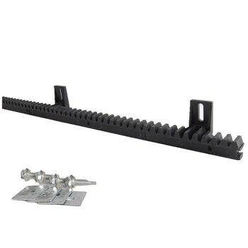 цена на Black Nylon Gear Rack for Sliding Gate Opener 4 lugs M4 Gear track 4m 5m