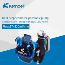 Kamoer KCM 12V/24V Peristaltic Water Pump With Stepper Motor and BPT/Silicon Tube Support Self-Priming(China)