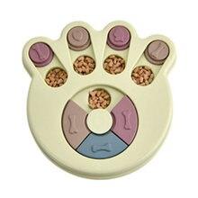Обучающий пазл для домашних животных игрушка собак миска медленного