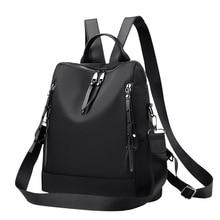 Shoulder bag girl new nylon Oxford cloth leisure travel outdoor women anti-theft rucksack