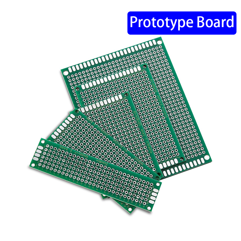 25PCS PCB Prototype Board Circuit Protoboard Universial Double Side Prototype Diy Pcb Kit 4X6cm 5X7cm 3X7cm 2X8cm 7x9cm Mixed