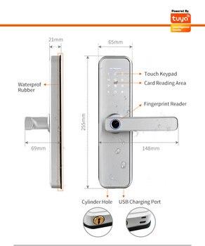 Nieuwe X5 Biometrische Vingerafdruk Waterbestendig Slot 4