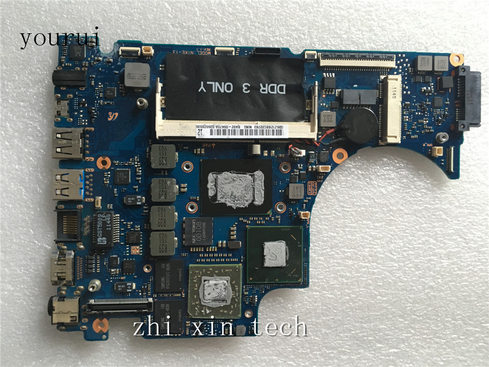 yourui  For Samsung NP700Z3A Laptop motherboard BA92 09470A BA92 09470B DDR3 Fully Tested Laptop Motherboard     - title=