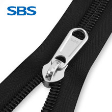 SBS Chain Zipper Trunk Accessories Elephant Nose Pull Lock Customize Size Tent zipper Outdoor sewing accessorie Fishing bag zip