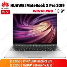מקורי HUAWEI MateBook X Pro 2019 מחשב נייד 13.9 סנטימטרים Intel Core i5 8265U 8GB LPDDR3 512GB SSD Windows 10 פרו אנגלית