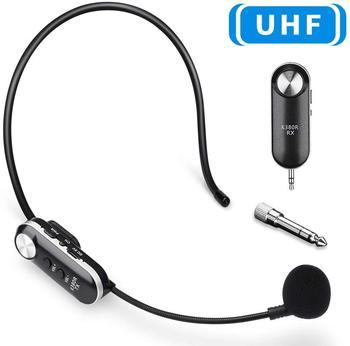 Onvian bezprzewodowy zestaw słuchawkowy z mikrofonem 50M bezprzewodowy zestaw słuchawkowy uhf system mikrofonowy na wzmacniacz głosu głośniki sceniczne przewodnik po nauczycielach tanie i dobre opinie Scen Mikrofon Bezprzewodowy Wzmacniacz Zestawy Lavalier Mikrofon pojemnościowy wireless Wireless Microphone Headset