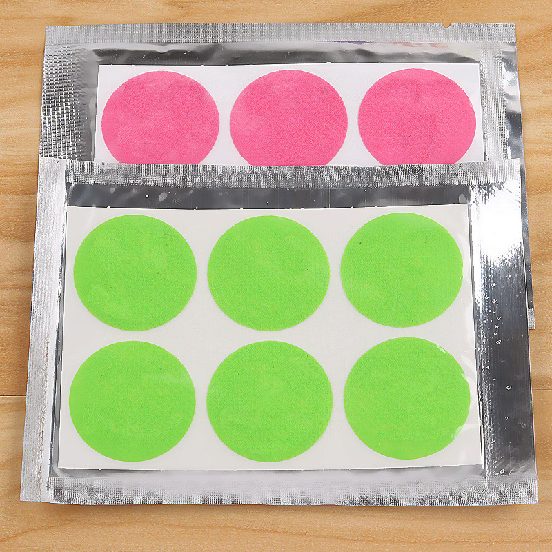 120pcs/60pcs Mosquito Stickers DIY Mosquito Repellent Stickers Patches Cartoon Smiling Face Drive Repeller 5