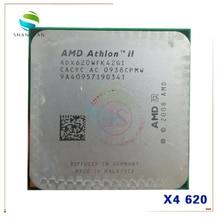AMD  Athlon X4 620 2.6GHz Quad-Core CPU Processor  ADX620WFK42GI 95W Socket AM3 938pin