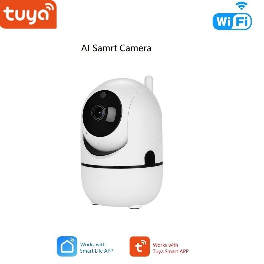 Smart HD 1080P IP Camera Tuya APP, Indoor Camera Mini Wireless Home Security WiFi Surveillance Camera Night Vision CCTV Camera