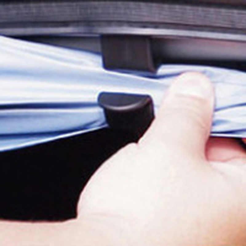 2Pcs Auto Umbrella Holder Clip Auto Organizador do Tronco Tronco Traseira Do Carro De Montagem Suporte de Toalha de Gancho Para O Guarda-chuva Pendurado Gancho