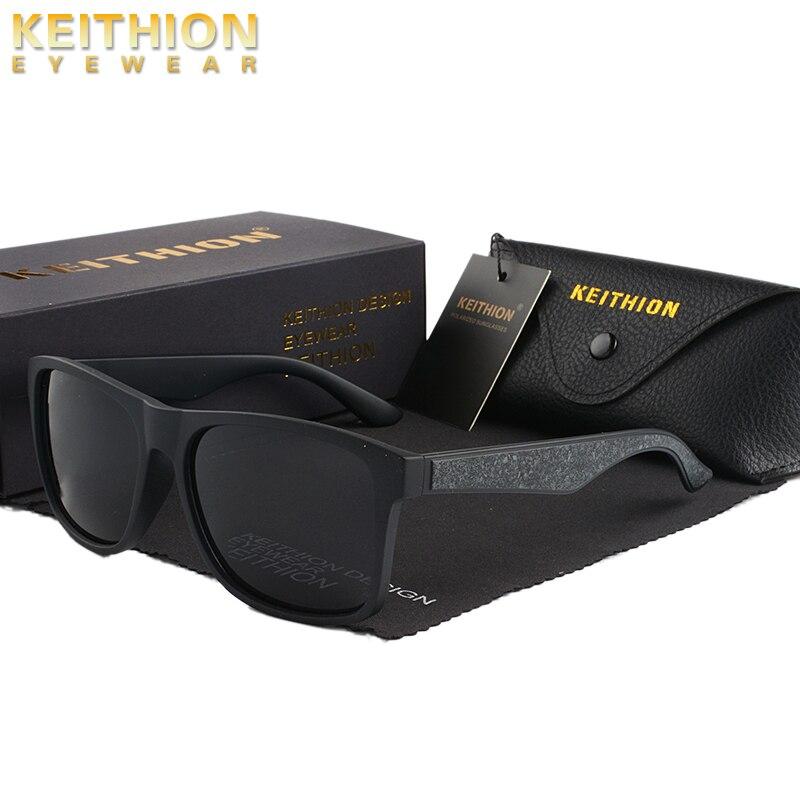 KEITHION 2020 Marke Neue Polarisierte Sonnenbrille Männer Runde Schwarz Kühlen Reise Sonnenbrille Hohe Qualität Angeln Brillen Oculos Gafas
