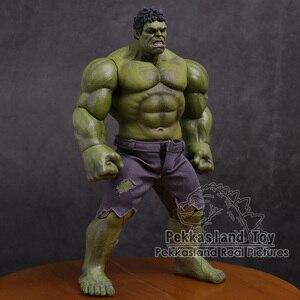 Image 2 - Экшн фигурка Мстители Халк супер герой ПВХ Коллекционная модель игрушка 25 см
