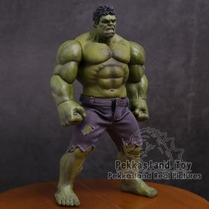 Image 2 - Les vengeurs Hulk Super héros PVC figurine modèle à collectionner jouet 25cm