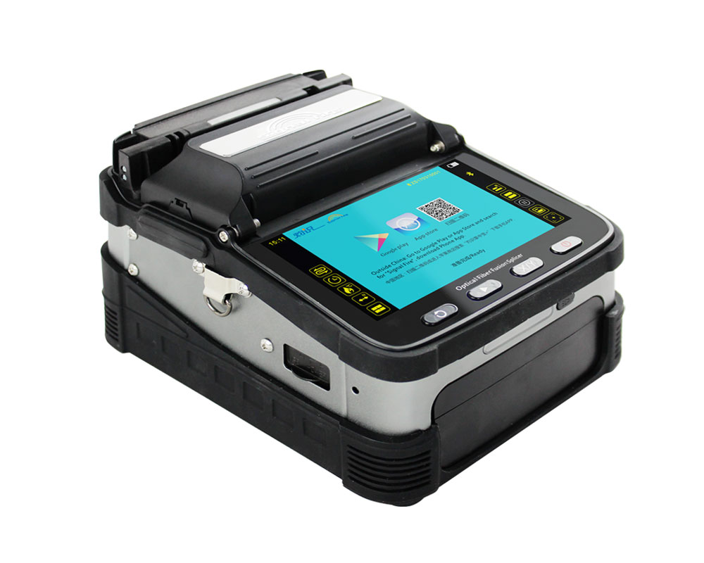 Signal Fire 5 Inch Screen Automatic FTTH  Optical Fiber Fusion Splicer SM&MM AI-7C 6 Motors