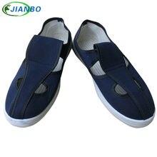 Производители обеспечивают антистатическую парусиновую обувь
